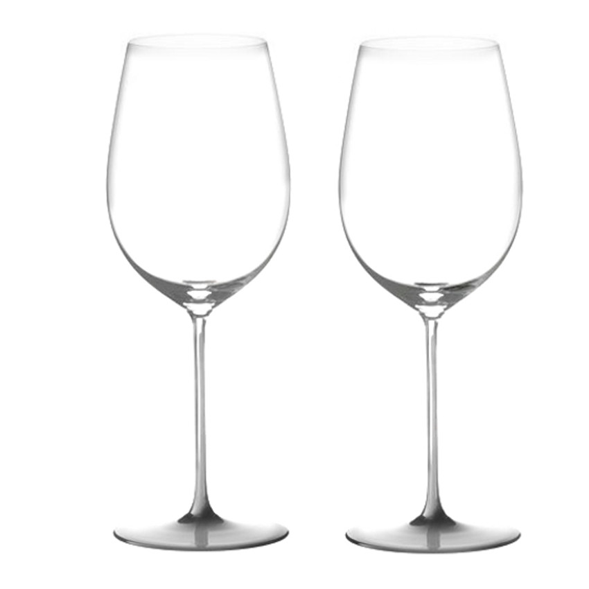 Riedel Sommeliers Leaded Crystal Bordeaux Grand Cru Wine Glass, Set of 2