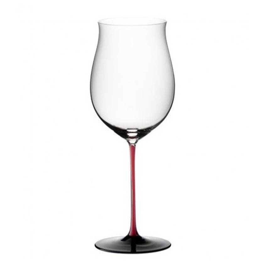 Riedel Sommeliers R-Black Series Leaded Crystal Burgundy Grand Cru Wine Glass