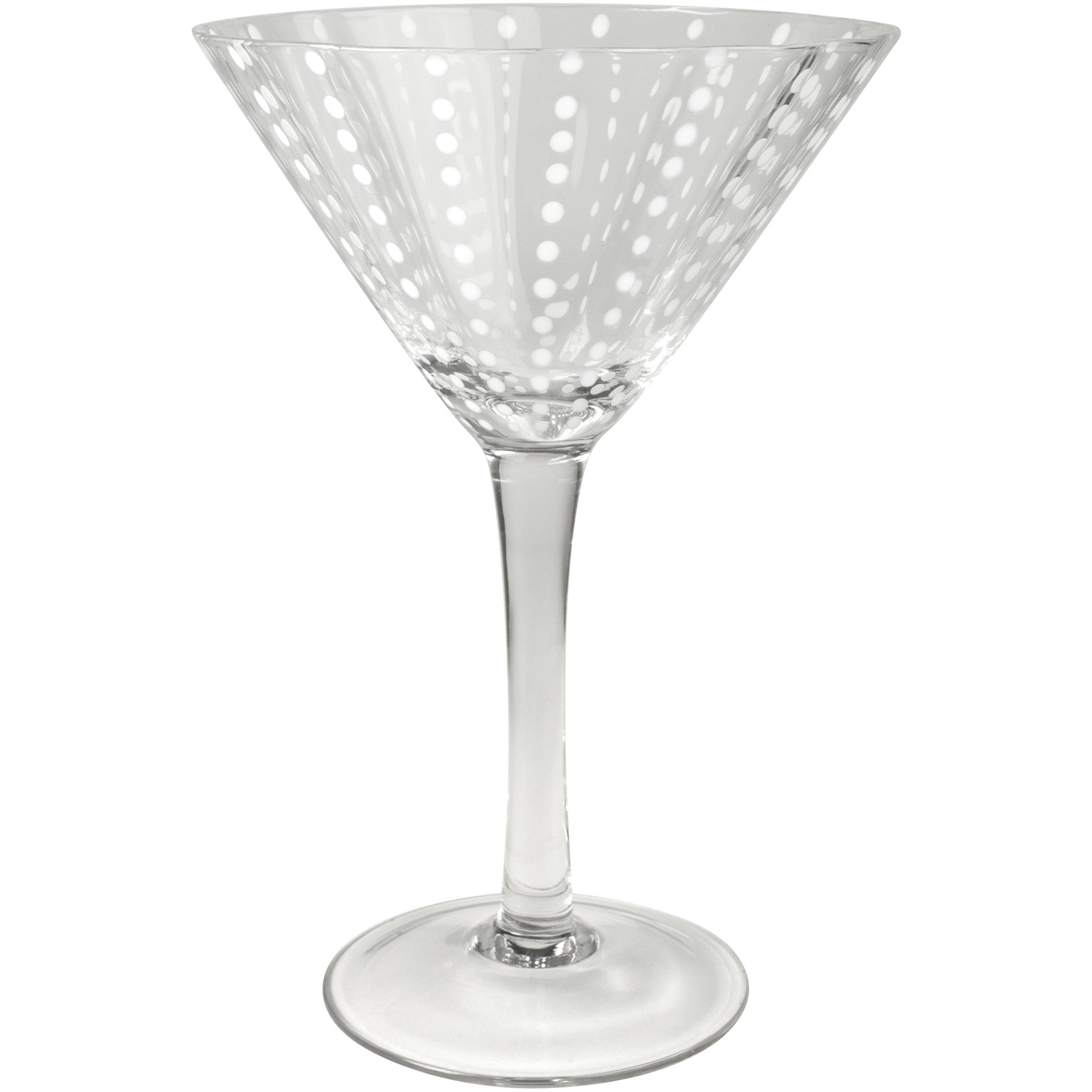 Artland Cambria Clear Martini Bar Glass, 8 Ounce