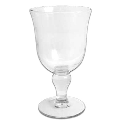 Martello Glass Goblet, 16 Ounce
