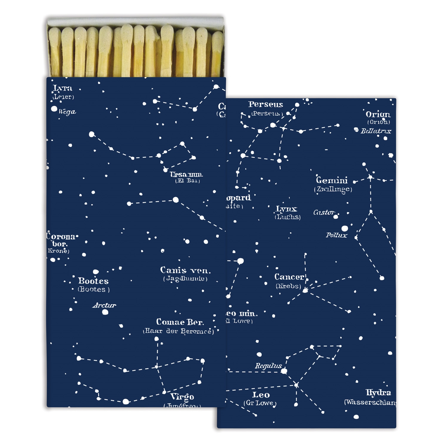 Homart Long Decorative Matches in Constellations Box