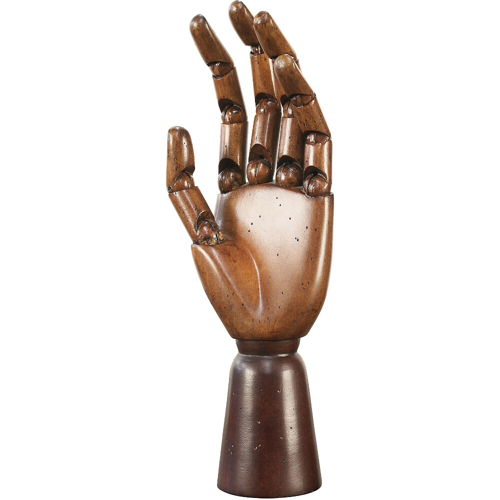 Authentic Models Artist's Posable Wooden Hand Sculpture