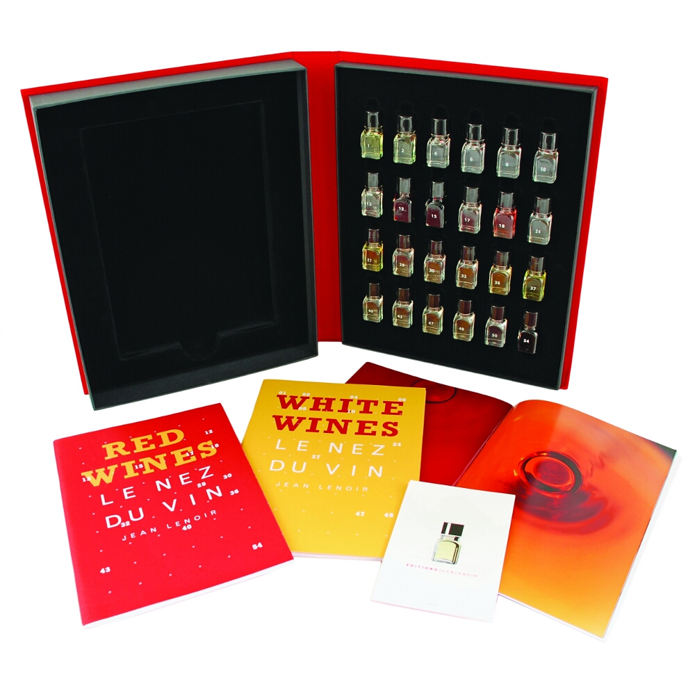 True Fabrications Duo Red and White Wine Aroma Training Kit