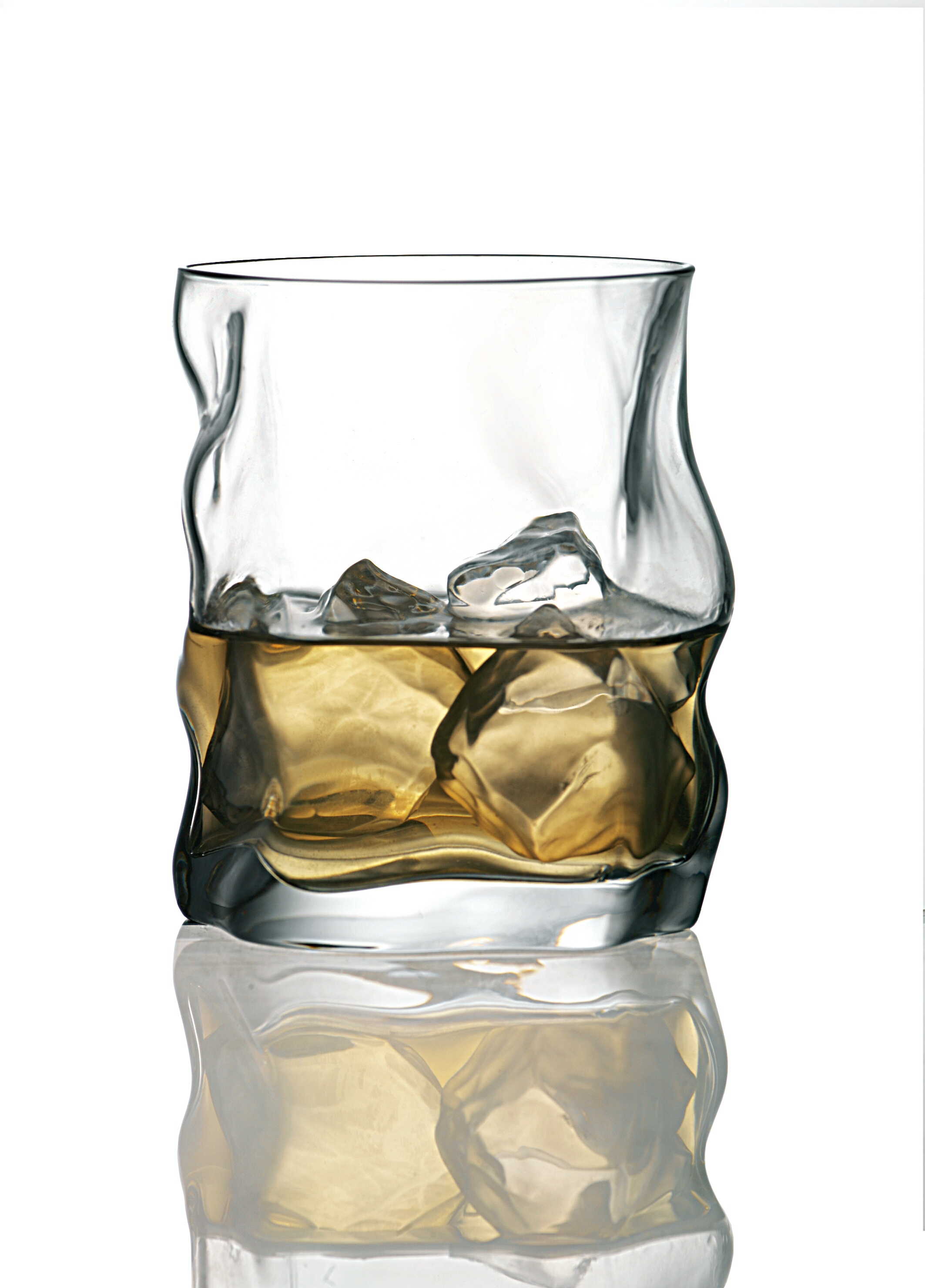Bormioli Rocco Sorgente Double Old Fashioned Glass, Set of 4