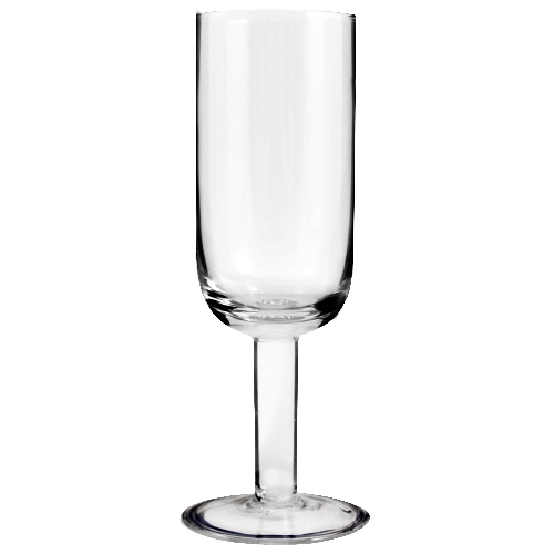 Thick Stem Champagne Flutes, set of 6