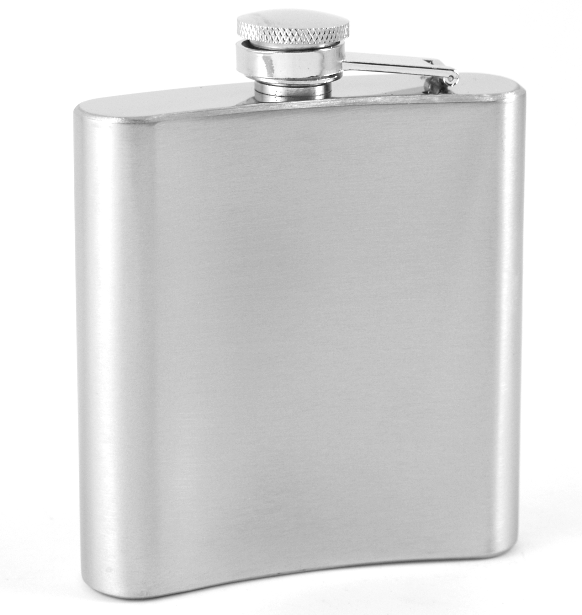 Stainless Steel Groomsman Flask 6 Ounce